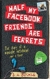 Half my Facebook friends are ferrets, front cover