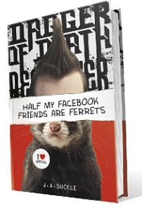 Half my Facebook Friends are Ferrets - US cover